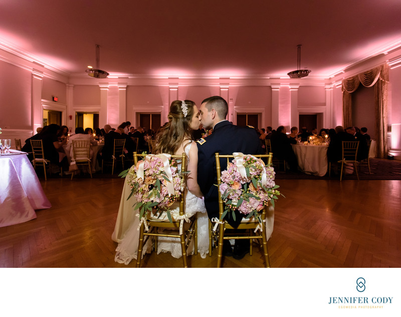 Carnegie Institution wedding reception
