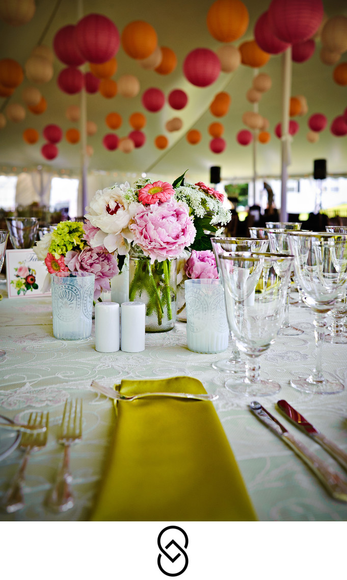 Kirkland Manor tent wedding in St. Michaels