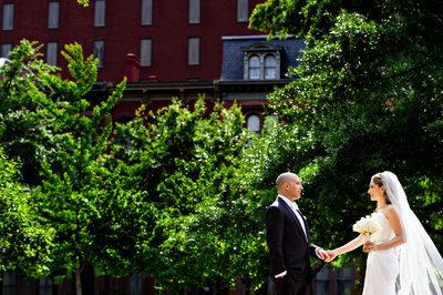 Mellon Auditorum wedding
