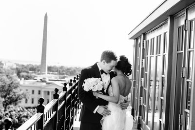 Top of the Hay wedding at the Hay-Adams Hotel