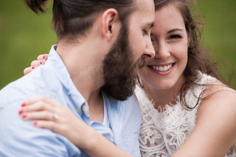 Katelyn + Blake | Engagement | Ned Brown Forest Preserve