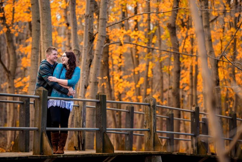 Amy + Brandon | Petrified Springs Park Engagement