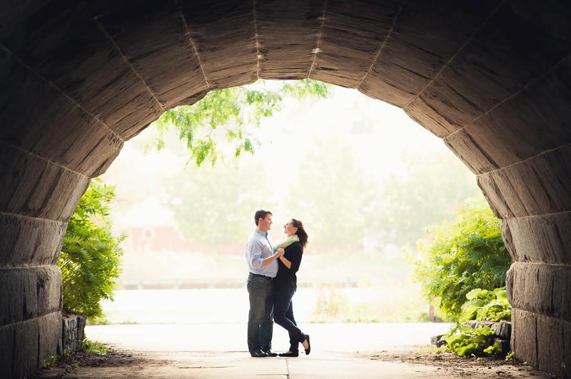 Nicole + Brandon | Lincoln Park Engagement Session