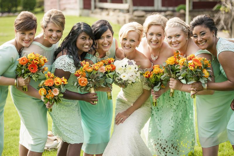Callie + Johnny | Orchard Ridge Farms Wedding