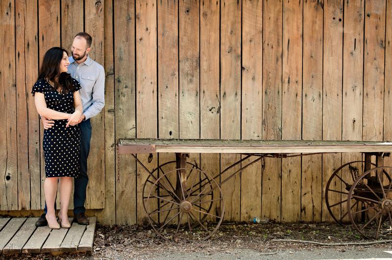 Elizabeth + John | Antioch Engagement