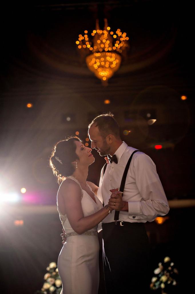 Elizabeth + John | Genesee Theatre Photographers