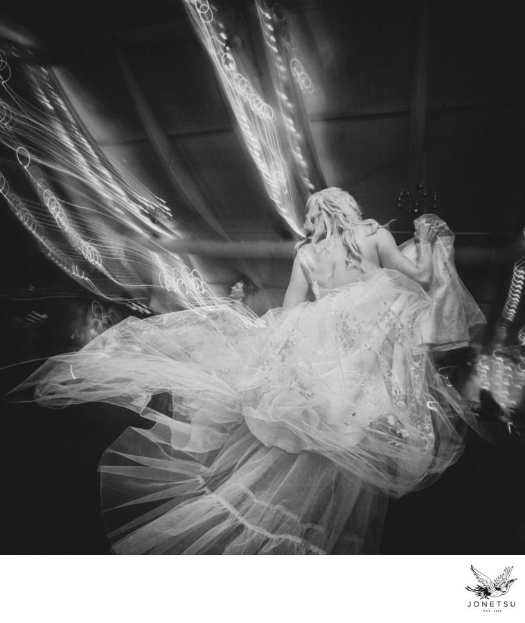 Muskoka wedding reception dancing bride Taboo Resort