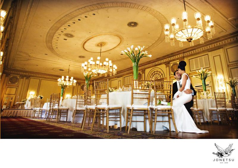 Vancouver Persian wedding reception luxury decor