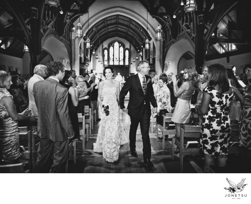 Christ Church Cathedral wedding ceremony photograph