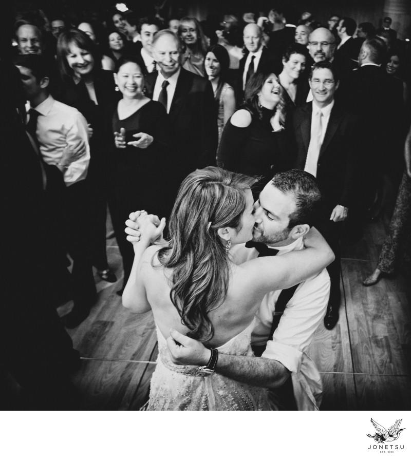 Jewish wedding hora vancouver wedding photographer