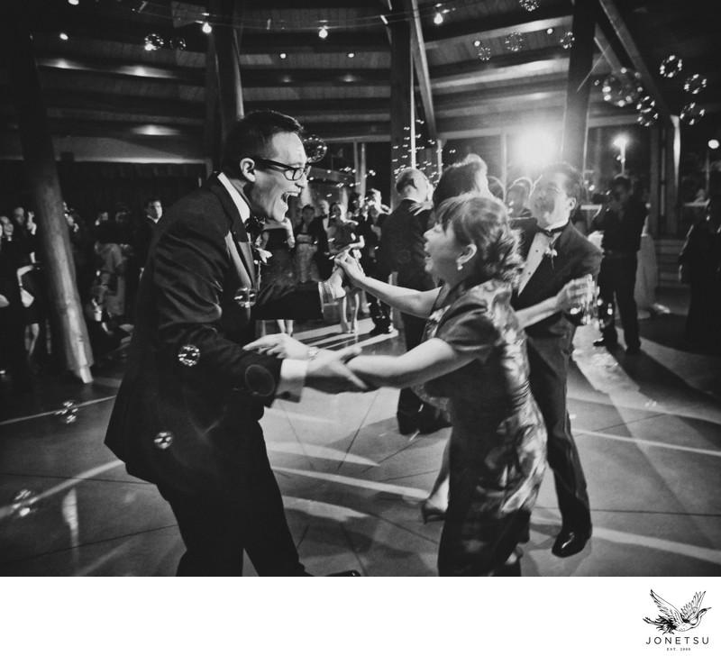 Whistler wedding reception mother son dance