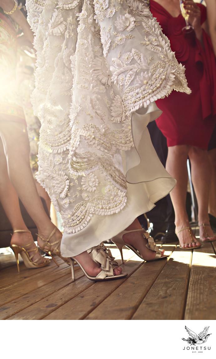 Valentino lace wedding dress