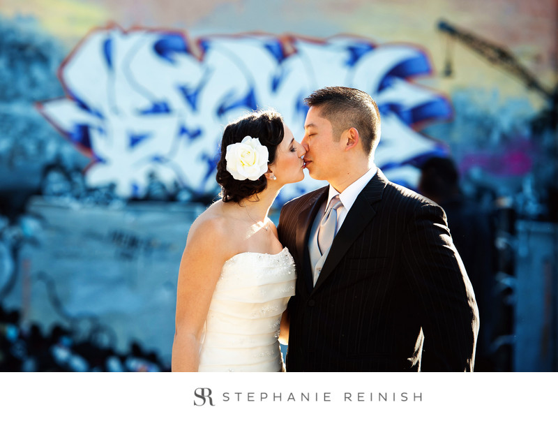 Wedding Pictures at 5 Pointz in Long Island City