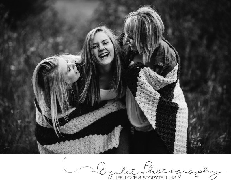 Family Lifestyle Photography - Sisters