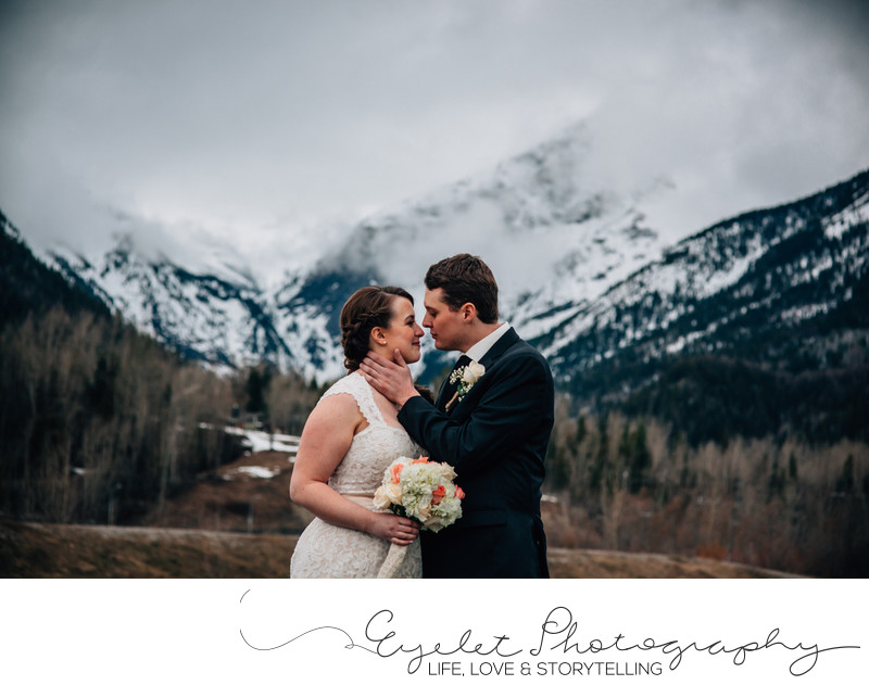 Fernie Wedding Photographer at the Three Sisters