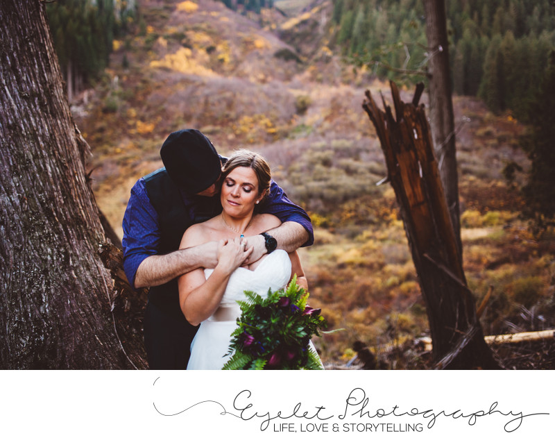 Island Lake Lodge Wedding Photographer