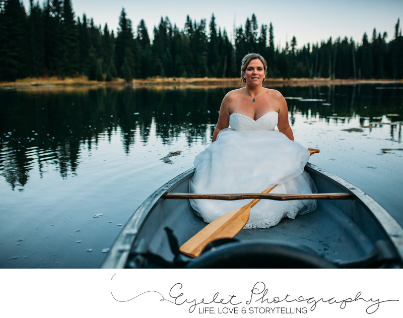 Island Lake Lodge Fernie Wedding Photography