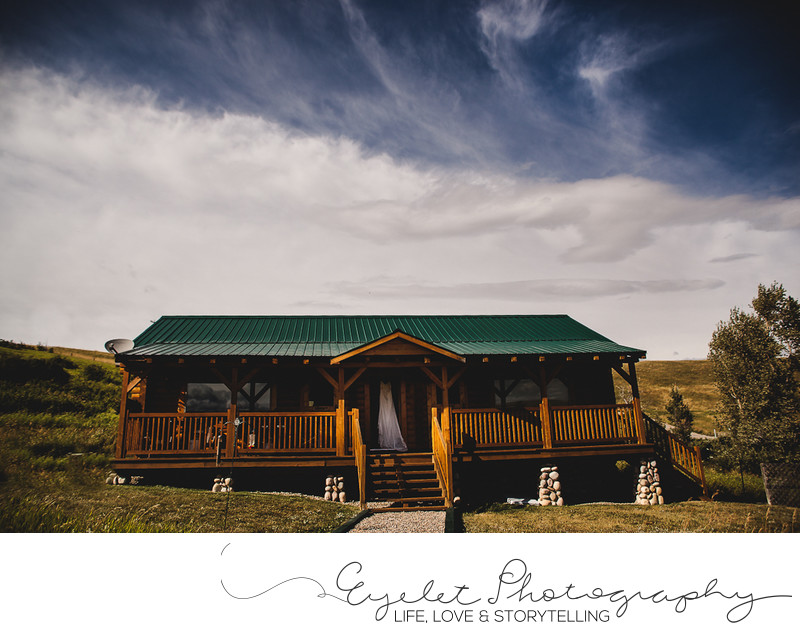 Wedding Photos Waterton, AB Bridal Dress Cabin
