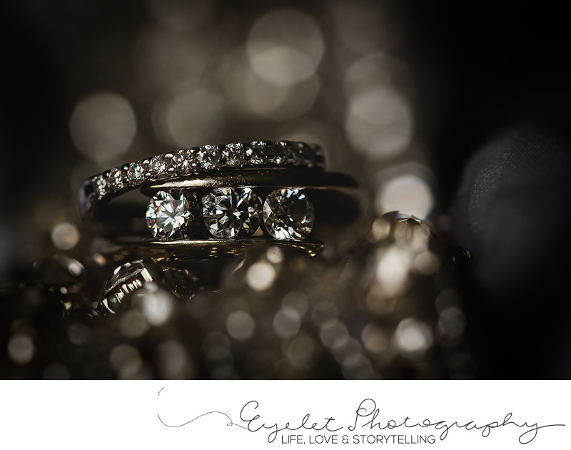 Wedding Ring Macro Details Photography