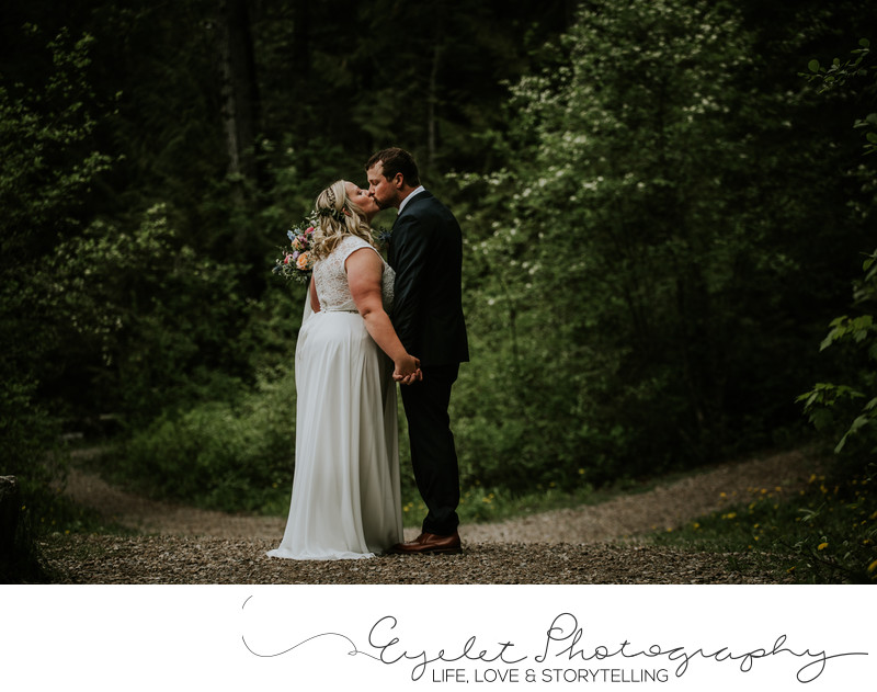Fernie Provincial Park Wedding Portrait Venue in Spring