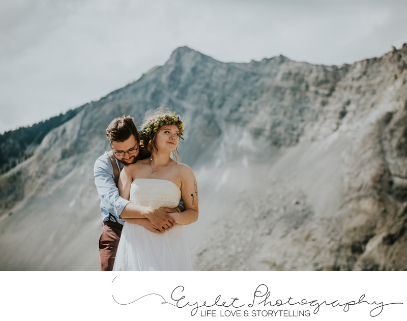 Frank Slide Wedding Crowsnest Pass Alberta CNP