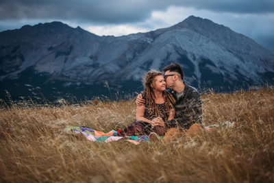 Engagement & Wedding Photographer Crowsnest Weddings