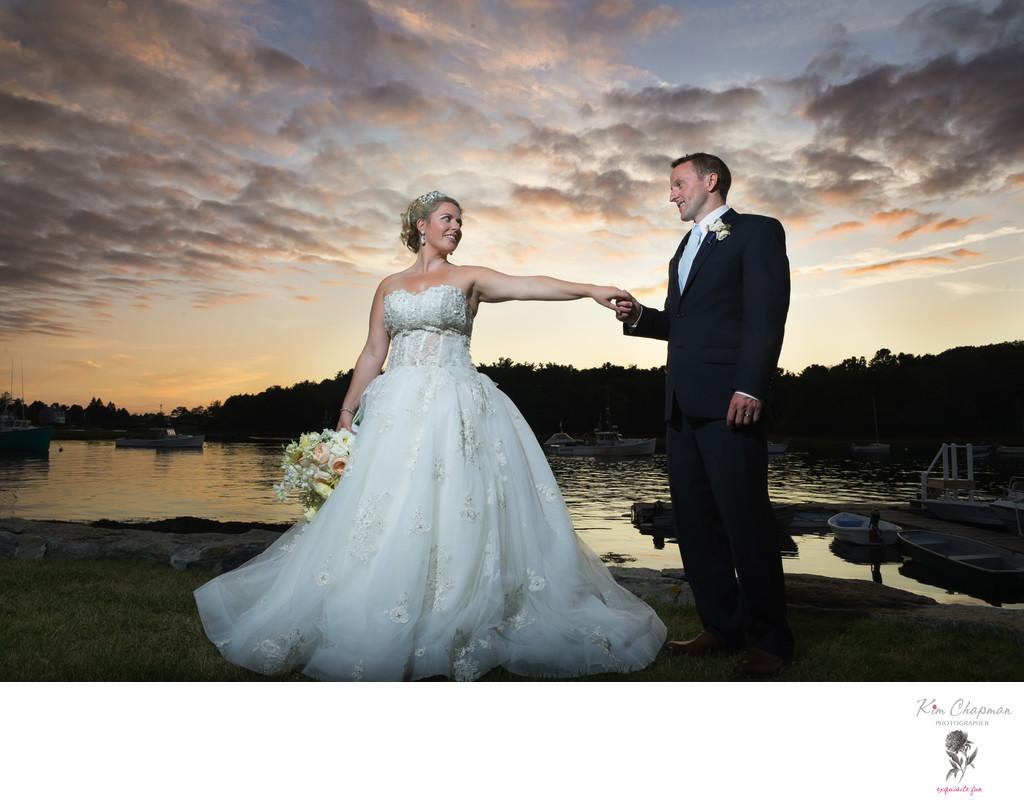 Maine Wedding Photographer Kim Chapman at The Nonantum