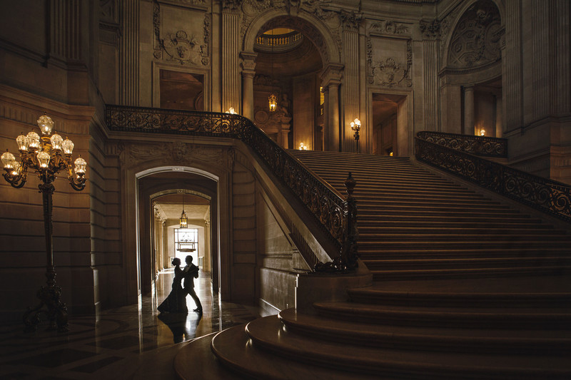 Romantic Dance in San Francisco City Hall