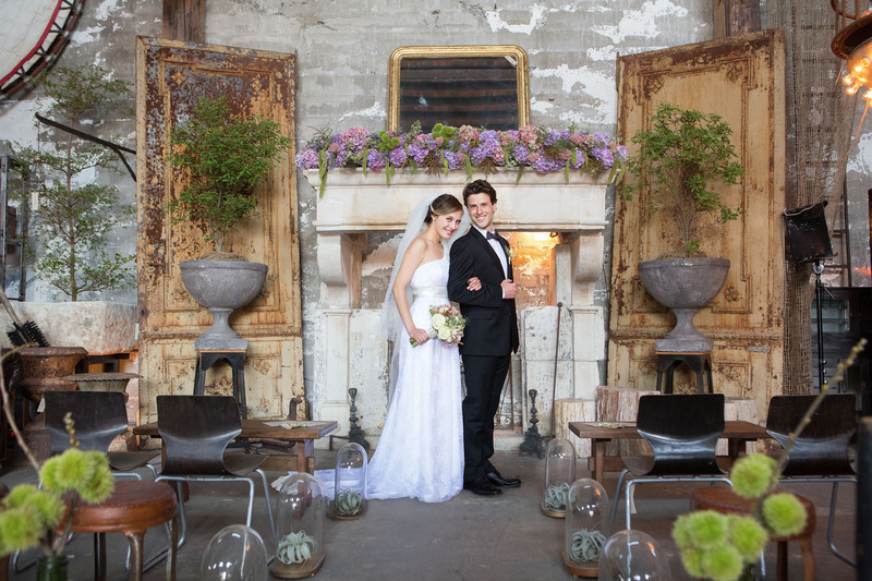San Francisco Big Daddy's Antiques Wedding Ceremony