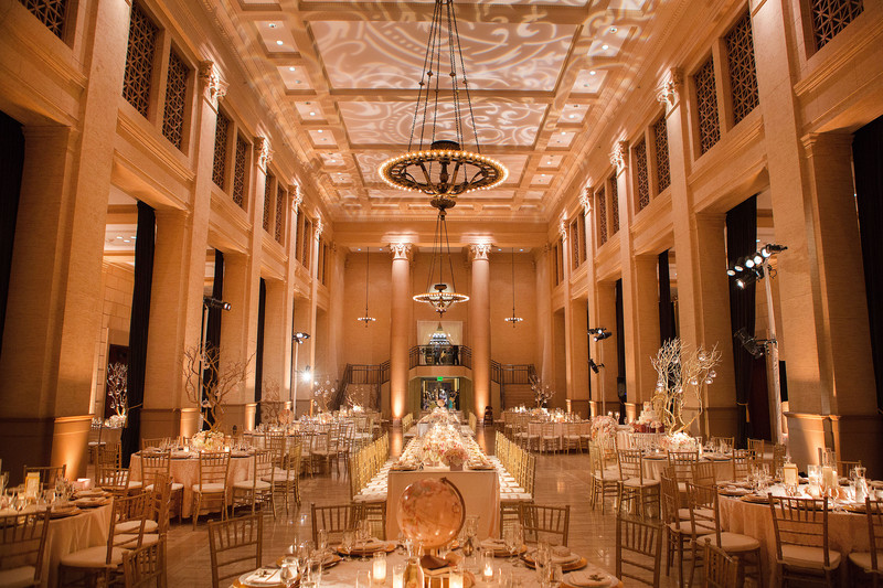 Wedding reception at Bently Reserve San Francisco