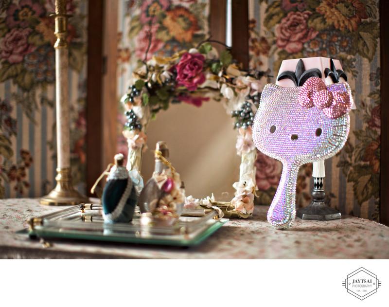 Hello Kitty Crystal Mirror