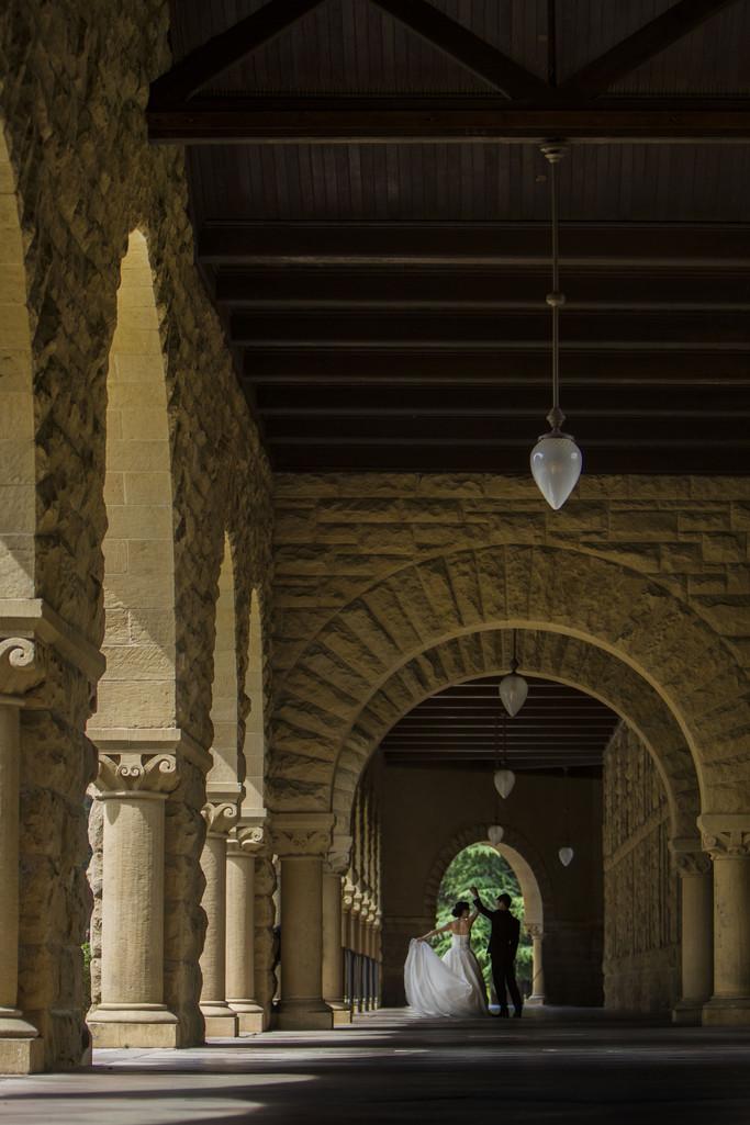 Romantic Dance Stanford University Spanish Architecture