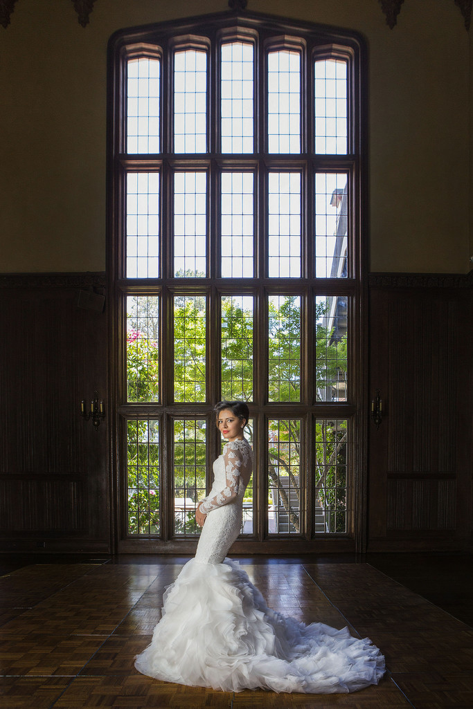Bridal Portrait Kohl Mansion