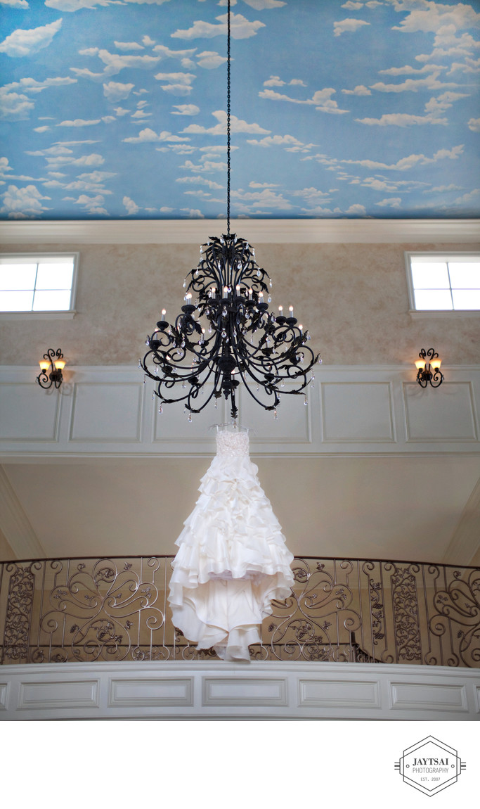 Wedding Gown Chandelier