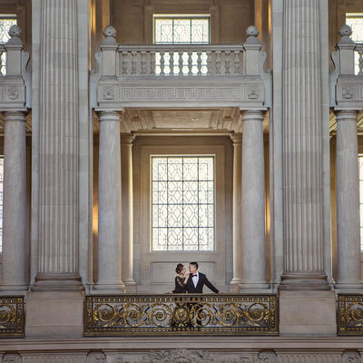 San Francisco City Hall Engagement Photographer