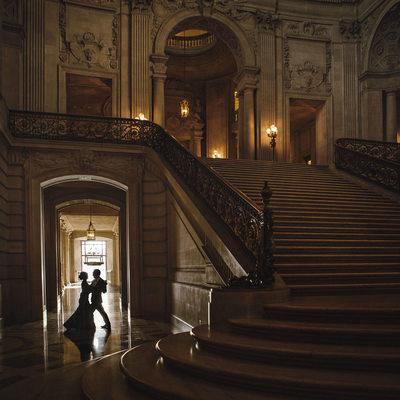 Romantic Dance in San Francisco City Hall