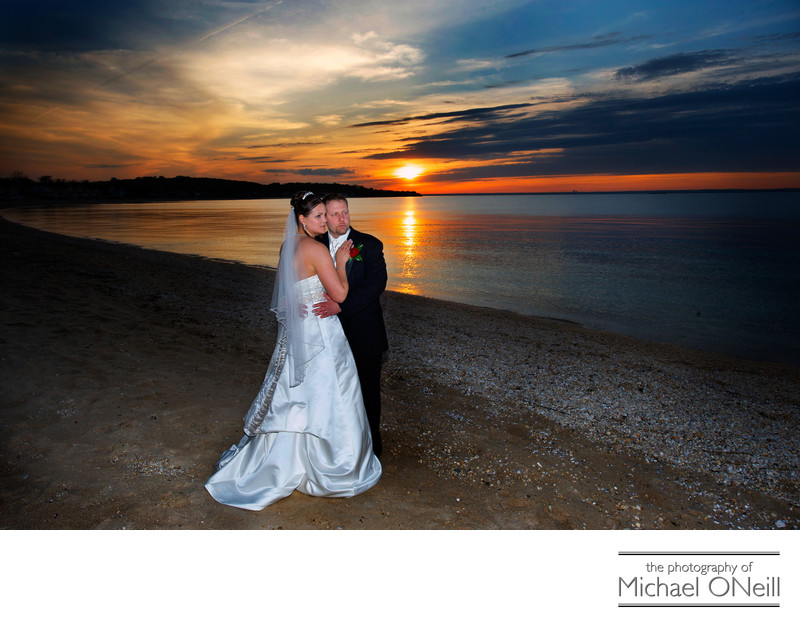 Bayville Crescent Beach Club Carltun on the Sound Wedding Photography