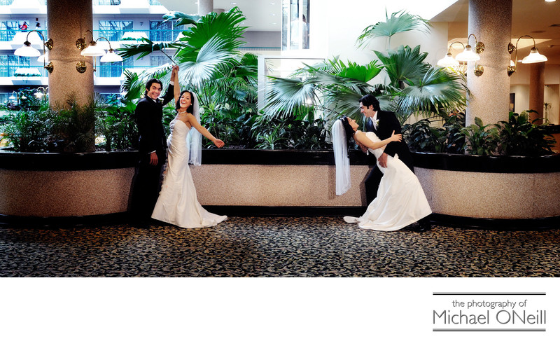 Creative Fun Long Island Wedding Pictures