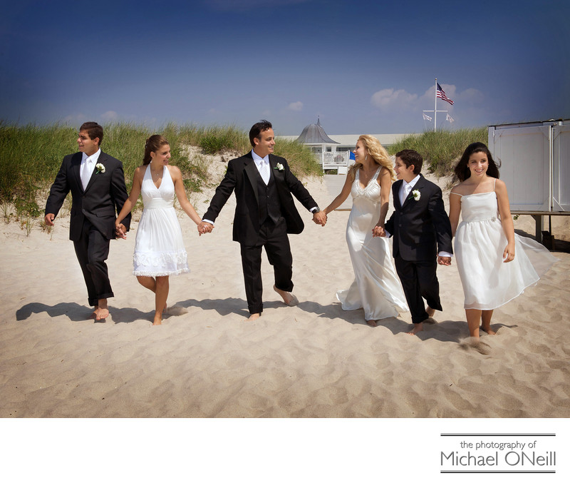 Hamptons Oceanbleu Beach Wedding Photos