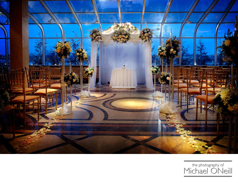 Venetian Yacht Club Jewish Wedding Ceremony