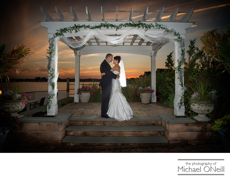 Best Long Island Sunset Wedding Photos
