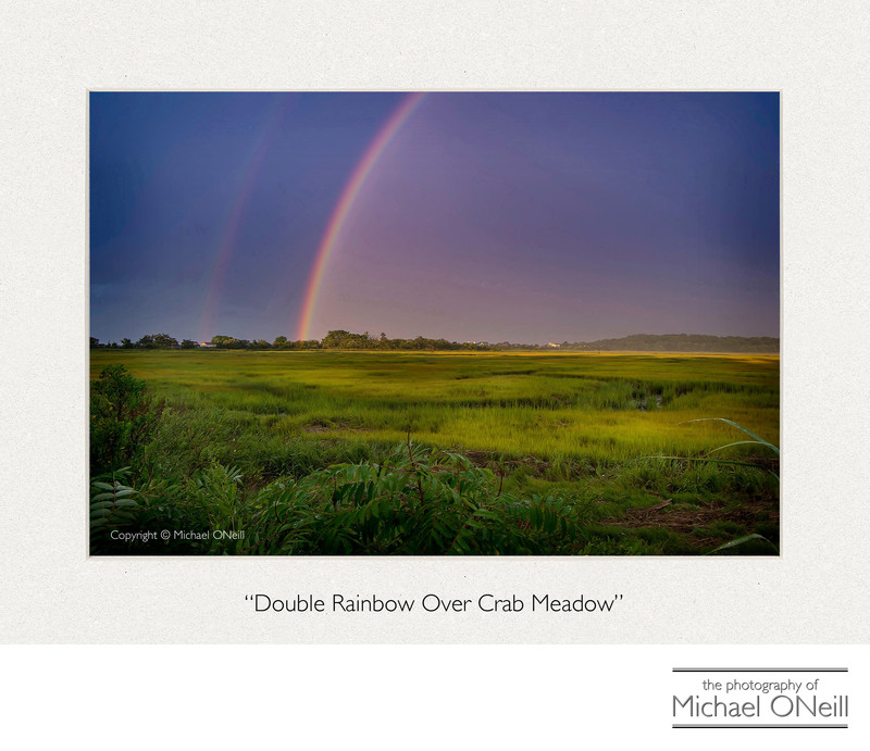 Collectible Fine Art Photography Northport NY Rainbow