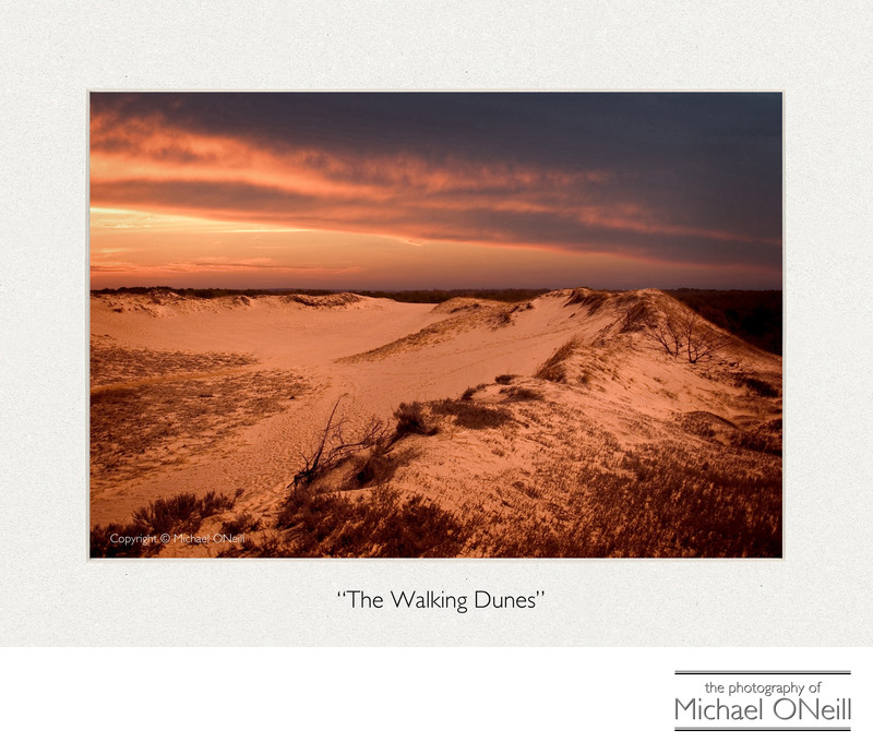 The Walking Dunes Napeague Hamptons NY