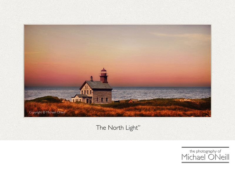 Collectible Fine Art Photography Block Island RI Lighthouse