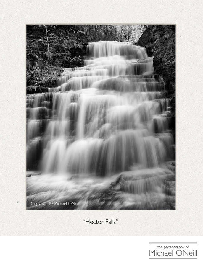 Hector Falls Finger Lakes NY Collectible Fine Art Photography Edition