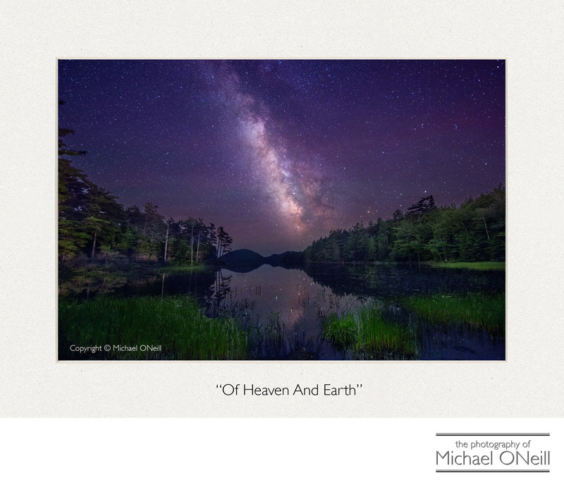 Milky Way Eagle Lake Mt. Desert Island Maine