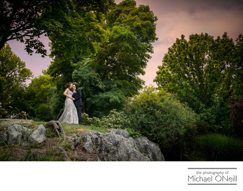 Exquisite NYC Panoramic Wedding Photos