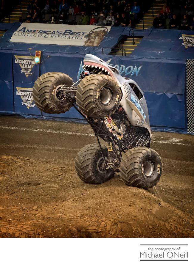 Megalodon Monster Truck Photographer