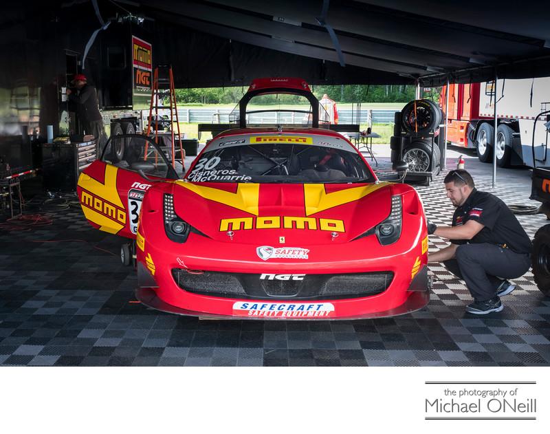Momo Ferrari Pirelli World Challenge Photo Lime Rock