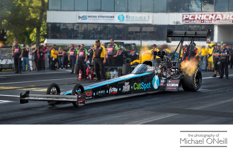 NHRA Top Fuel Dragster Photography Englishtown